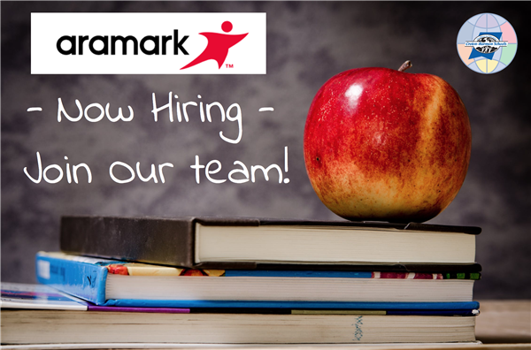 Aramark Food Service Now Hiring! Join Our Team! Follow the links on this page to learn more and apply!