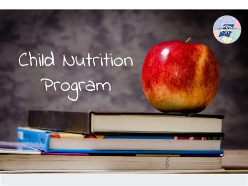 Child Nutrition Program Menus Homepage