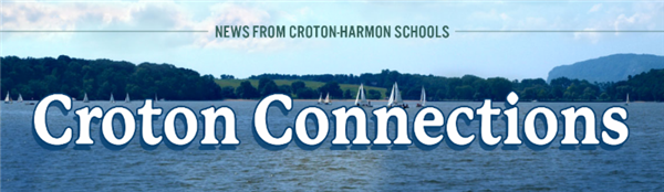 Croton Connections - News from Croton-Harmon Schools - Picture of Hudson River with sail boats and River Valley