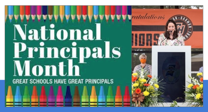 National Principals Month - CHHS