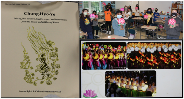 Lotus Lantern Project by PVC Students