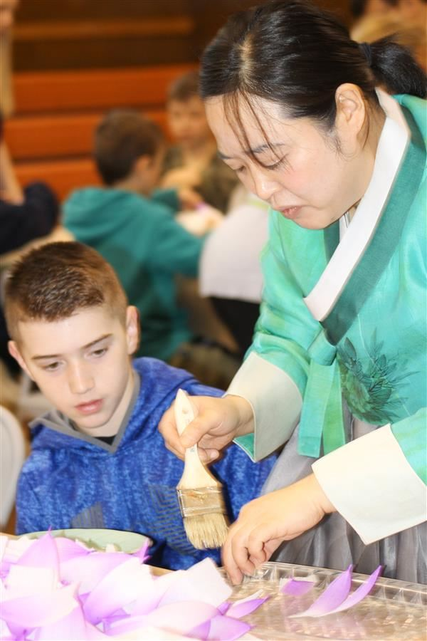PVC Students Learn an Ancient Art